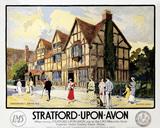 'Stratford-upon-Avon', LMS poster, c 1923.