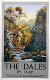 'The Dales', LNER poster, c 1930s.