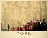 'York - Local Government Centenary', LNER poster, 1935.
