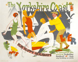 'The Yorkshire Coast', LNER poster, 1930.