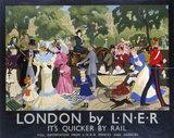 'London by LNER', LNER poster, 1933.
