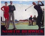 'North Berwick', LNER poster, 1923-1947.