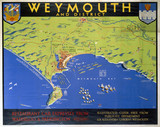 'Weymouth', BR poster, c 1948-1960.