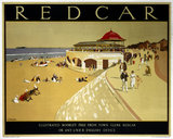 'Redcar', LNER poster, 1923-1947.