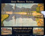 'Stratford-upon-Avon', GWR poster, 1923-1947.