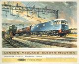 'London Midland Electrification', BR (LMR), 1961.
