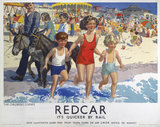 'Redcar', LNER poster, 1930s.