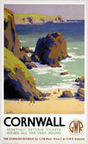 'Cornwall', GWR poster, 1938.