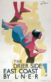 'The Drier Side', LNER poster, 1923-1947.