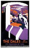 'The Dales', LNER poster, 1923-1947.