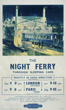 'The Night Ferry', BR poster, 1953.