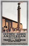 'Olympic Games, Amsterdam', LNER poster, 1928.