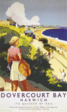 'Dovercourt Bay', LNER poster, 1941.