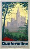 'Dunfermline', LNER poster, 1923-1947.