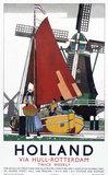 'Holland', LNER poster, 1923-1947.