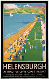 'Helensburgh', LNER poster, 1923-1947.