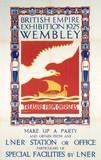 'British Empire Exhibition,' LNER poster, 1925.