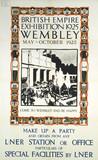 'British Empire Exhibition', LNER poster, 1925.