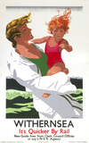 'Withernsea', LNER poster, 1933.