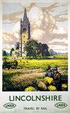 'Lincolnshire', LNER poster, 1923-1947.