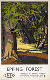 'Epping Forest', LNER poster, 1923-1947.