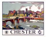 'Chester', GWR poster, c 1930s.