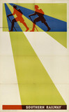 Southern Railway stock poster, 1923-1947.