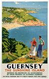 'Guernsey', GWR/SR poster, 1938.