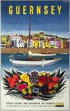 'Guernsey' BR (SR) poster, 1958. Poster pro