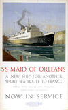 's Maid of Orleans', BR poster, 1950s.