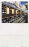 'The Bournemouth Belle', BR stock poster, 1953.