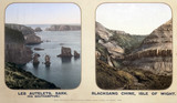 Les Autelets, Sark, and Blackgang Chine, Isle of Wight, 1910s.