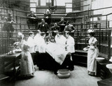 Early surgery, University College Hospital Medical School, London, 1898.
