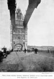 Tower Bridge, London, 1894.