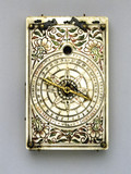 Tablet sundial, German, 1648.