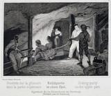 'Sliding Party in the Upper Part', Durrnburg, Austria, c 1850s.
