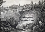 Salt mining scene, Durrnberg, Austria, mid 19th century.