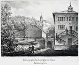 Entrance to a salt mine, Durrnberg, Austria, 19th century.