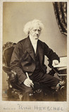 John Herschel, English astronomer and scientist, 1866-1871.