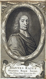 John Ray, English naturalist, c 1700.