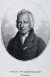 Claude-Louis Berthollet, chemist, c 1810.