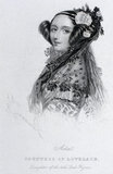 Ada King, Countess of Lovelace, c 1840.