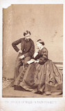 The Prince of Wales and Princes Alice, 1876-1877.