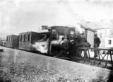 Locomotive No 2 with a mixed goods and pas