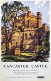 'Lancaster Castle', BR (LMR) poster, 1950.