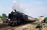 Steam locomotive 'Cranleigh' with a paseng