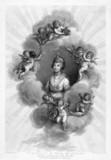 Queen Charlotte, wife of King George III, 1796.