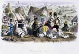 'Farming For Ladies', c 1840s.