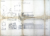 Specification drawing for the Scheutz Difference Engine, 19th century.
