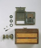 'Le Grand Photographe' whole plate daguerreotype camera, c 1840.